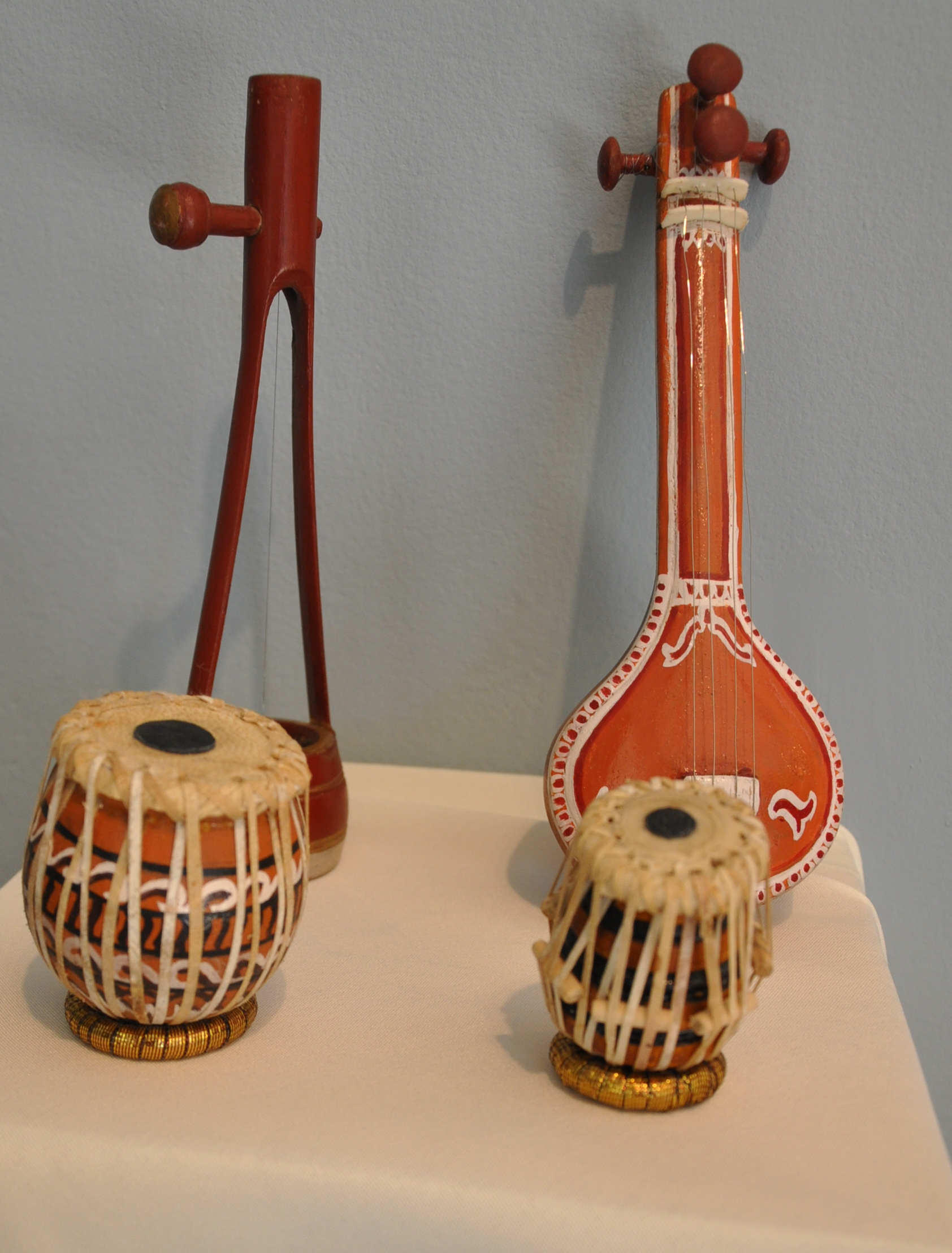 Asian musical instruments